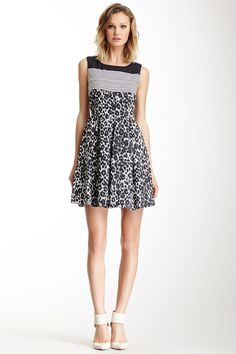 One+Dress+A+Day+Liverpool+Printed+Skater+Dress+by+One+Dress+A+Day+on+@nordstrom_rack