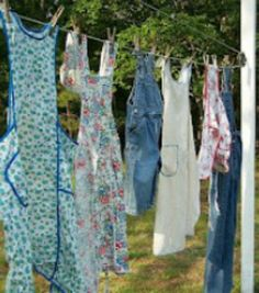 Love the Laundress aprons fit for some serious hospitality.
