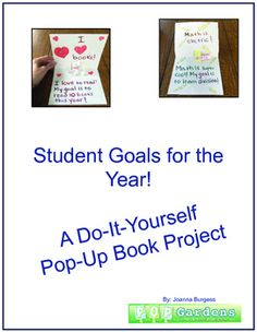 Pop right into the school year with goal setting! This activity has two parts. The first is for students to think and then write goals they would like to work towards this year. This is a great way to have them consider what they hope to achieve in the coming school year, giving them a sense of empowerment and participation in their own learning.