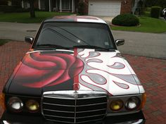 The Immaculate M.E.rcedes Art Car by Martin Reese – Art Car Central