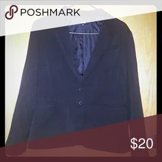 Apt9 black blazer 64% polyester 33% rayon 3% spandex Apt. 9 Jackets & Coats Blazers