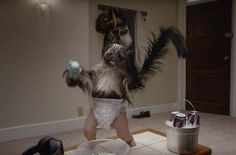 "No Super Bowl 50 commercial was more profoundly unsettling than Mountain Dew Kickstart's ""Puppy Monkey Baby."" And when the Internet gets its hands on something this creepy/scary/fascinating, there is only one thing to do: create Puppy Monkey Baby… Baby Puppies, Cute Puppies, Dogs And Puppies, Puppies Tips, Doggies, Saint Yves, Funny Dogs, Funny Memes, Ironic Memes"