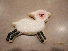 sheep cookie