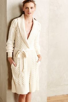North Tahoe Sweater Robe #anthropologie #anthrofave