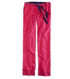 aerie pj pants--would look so cute with a monogram!