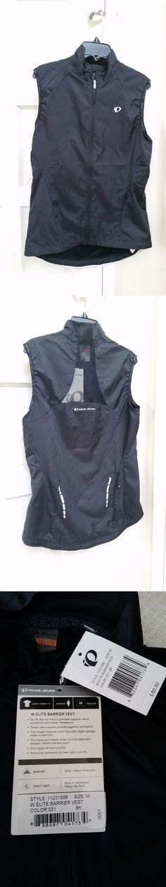 Vests 177856: Womens Pearl Izumi Elite Barrier Cycling Vest. Size Medium New With Tags. -> BUY IT NOW ONLY: $40 on eBay!