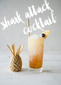 Shark Attack Cocktail recipe on LaurenConrad.com