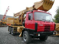 Tatra T815 6x6.2 UDS 214 Tow Truck, Trucks, Running Gear, Central Europe, Shovel, Czech Republic, Motor Car, Crane, Transportation