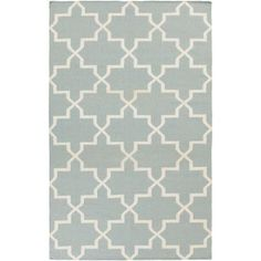 Artistic Weavers York Reagan Sky Blue 3 ft. x 5 ft. Indoor Area Rug-AWHD1026-35 - The Home Depot $71.55