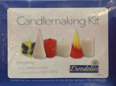 Dandelion Candle Making Boxed Kit - Upto 20 Candles / Make Coloured Candle Dandelion Clothing http://www.amazon.co.uk/dp/B00FZRZQ2U/ref=cm_sw_r_pi_dp_9Gy4wb18Q11GV