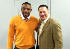 VFL Eric Berry and new Vol Coach Butch Jones
