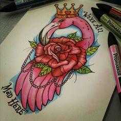 Fairy Alice in Wonderland Tattoo - Designs & Ideas 2019 Type Tattoo, Body Art Tattoos, Tattoo Drawings, Tatoos, Orca Tattoo, Tattoo Goo, Lewis Carroll, Alice In Wonderland Flamingo, Medium Size Tattoos