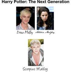 Draco and Astoria's Child