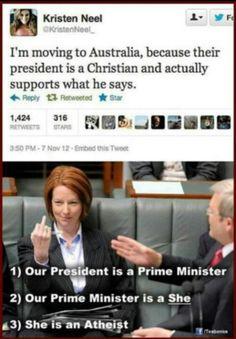Australian politics lol