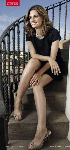 Stana Katic sexy feet