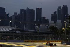 Check out photos from the Singapore Grand Prix Singapore Grand Prix, F1 Season, Formula 1, Opera House, Track, Racing, Gallery, Building, Photos
