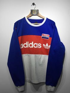 Adidas Sweatshirt size x/Large (but Fits Oversized) £45 Website➡️ www.retroreflex.uk #adidas #trefoil #vintage #oldschool #truevintage