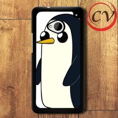 Adventure Time HTC One M7 Black Case