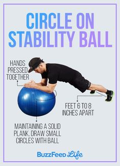 Circle On Stability Ball
