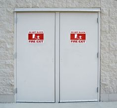 Ultimate Doors offer a range of services for fire doors in Melbourne. Exit doors including installation, maintenance, repairs and replacement. Fire Doors, Brutalist, Locker Storage, Home Decor, Decoration Home, Room Decor, Home Interior Design, Home Decoration, Interior Design