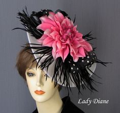 Lady Diane Fascinator Hats
