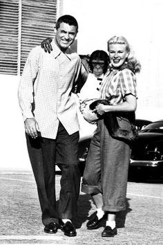 Monkey Business (1952) Cary Grant, Ginger Rogers