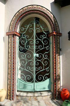 tile-door-surround