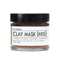 CLAY MASK - Red (all Skin Types)