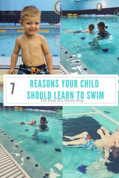 7 Reasons Your Child Should Learn to Swim - The Busy Boy Mama Gentle Parenting, Parenting Advice, Kids And Parenting, Boys Blog, Swim School, Learn To Swim, Physical Development, Swim Lessons, Free Baby Stuff