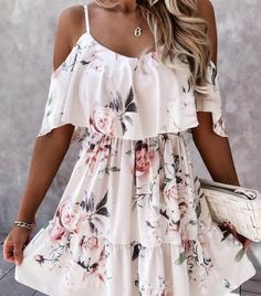 1 Piece Dress, Elegant Maxi Dress, Maxi Robes, Lace Print, Short Sleeve Button Up, Short Sleeves, Fit And Flare, Sleeve Styles, Casual Dresses