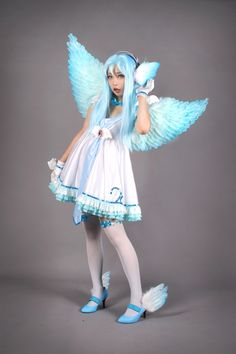 Vocaloid. Character: Hatsune Miku . Version: Magnet Angel. Cosplay Team. Spiralcats. Cosplayer: Tomia.