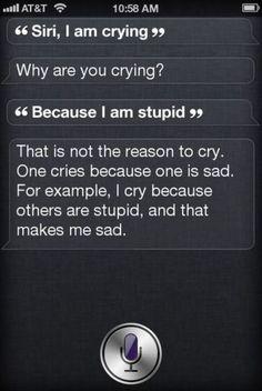 Thanks Siri, Keep The Advice Coming
