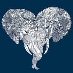 This type of love is unforgettable (because elephants have amazing memory).  Printed on a tri-blend indigo American Apparel pullover. Please note that this cut runs on the cozy oversized side for more of that 80s flashdance feel.  ***20% of the proceeds from each sale is donated to the African Wildlife Foundation, protecting animals, such as those on this design, and their habitats. *Please note that tracking information is generated the same day you place an ordered but it takes between…
