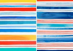 Margaret Berg Art: Sailboat+Stripes
