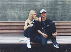 We love seeing our fave celebs hanging out together. And no one's hang sessions give us more FOMO than Olivia Holt and Jordan Fisher! These two Disney