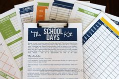 Printable checklists for back to school + 25 Back-to-School Organization Tips for the Home