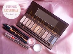 Summer Essentials | Make Up | Vanilla & Beauty Things