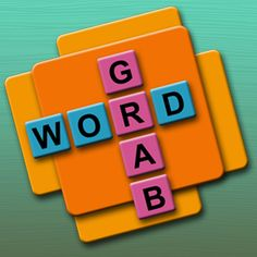 WORD GRAB LOGO Another Great Word Game App, Fun For The Whole Family!!