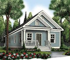 Darling Bungalow House Plan - 75470GB | Bungalow, Northwest, Traditional, Narrow Lot, 1st Floor Master Suite, CAD Available, PDF | Architectural Designs