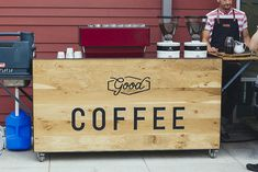 Good Coffee coffee cart |Portland OR
