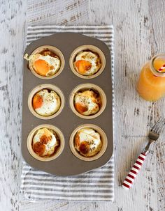 Check out this list of the best egg muffin recipes from around the web. Including keto egg muffins, vegan egg muffins, as well as popular ingredients like bacon, cheese, and chorizo. Bacon Egg Muffins, Ham Breakfast, Korean Kitchen, Vegetable Pie, Ham And Eggs, Bulgogi, Baked Ham, Muffin Recipes, Ham Recipes
