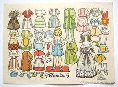 Newspaper Paper, Old Paper, Editorial, Vintage Paper Dolls, Miniatures, Paper Crafts, Drawings, Fabric, Prints