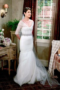 Kids here is your Aunt Robin's wedding dress....