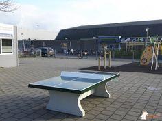 Pingpongtafel Groen bij Prins Johan Frisoschool in Berkel en Rodenrijs