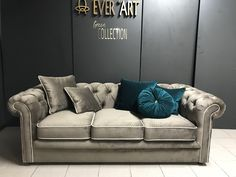 Chesterfield, Couch, Furniture, Home Decor, Decoration Home, Room Decor, Sofas, Home Furniture, Sofa