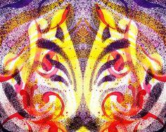 'French Curve Abstract Movement Mystic Flower  http://irina-sztukowski.artistwebsites.com/featured/french-curve-abstract-movement-vi-mystic-flower-irina-sztukowski.html #fineart #artwork #decoratehome #artgift #gift #painting #homedecor