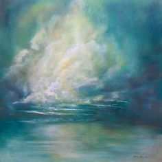 """""""Beauty Within the the Storm"""" by Melanie Meyer from her Emergence Art Gallery in Cape Town"""