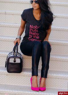 Pink heels! <3
