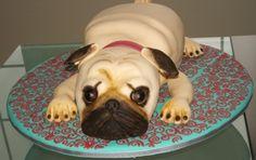 PUG cake By Salpi on CakeCentral.com