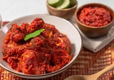 From the Indonesia cuisine, we bring to you the spicy Ayam Balado made from tender chicken and the fragrant sambal balado! Follow our easy recipe here. Indonesian Chicken Recipe, Indonesian Food, Indonesian Recipes, Chicken Stir Fry, Fried Chicken, Shrimp Paste, Chicken Legs, Saute Onions, Gluten Free Chicken